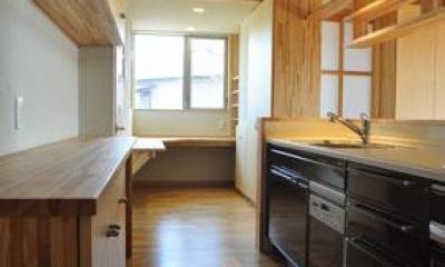 志布志の家 (キッチン)