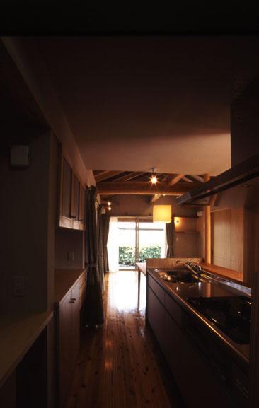 小さな住処の部屋 キッチン