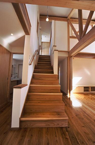希望の家の部屋 階段