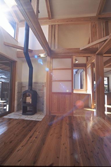 希望の家の部屋 居間