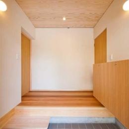 オーディオマニアの家 (玄関)