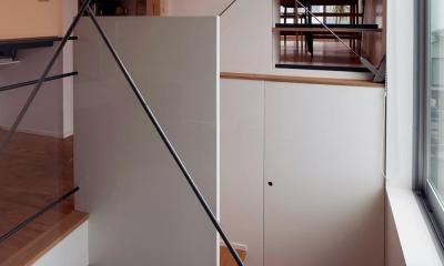 スキップフロアの家Ⅱ (階段)