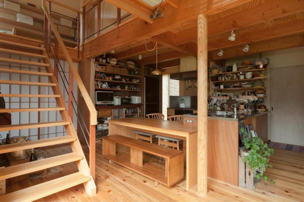 段々畑の家 (ダイニングキッチン)