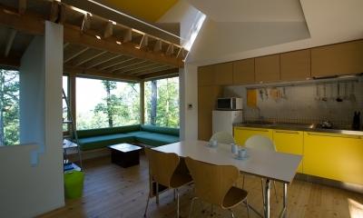 008軽井沢Fさんの家 (キッチン)