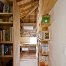 「つし」のある家の写真 書斎