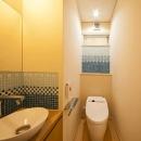 「つし」のある家の写真 トイレ
