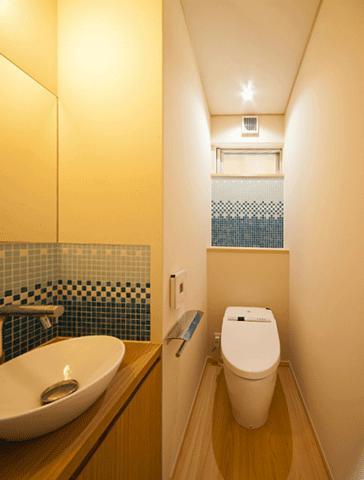 バス/トイレ事例:トイレ(「つし」のある家)