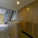 WHITE BOX&BLACK WALLの写真 1階玄関