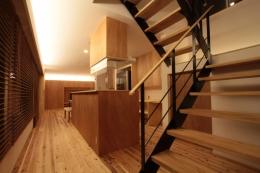 ツレントコ (LDK・オープン階段)