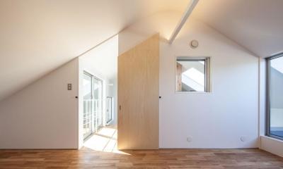 indoor terraceの家 (寝室)