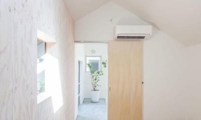 indoor terraceの家 (子供室)