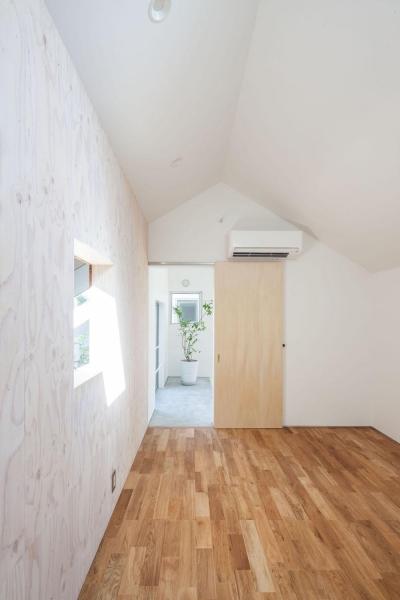 子供室 (indoor terraceの家)
