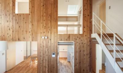 indoor terraceの家 (内観)