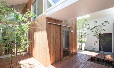 indoor terraceの家 (テラス)