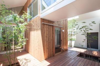 テラス (indoor terraceの家)