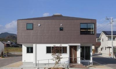 萱方の住宅 (外観)