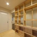 萱方の住宅の写真 ディスプレイラック