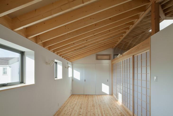 萱方の住宅 (洋室)