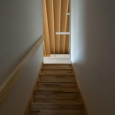 萱方の住宅の写真 階段