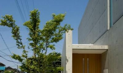 Nさんの住家 (玄関ポーチ)