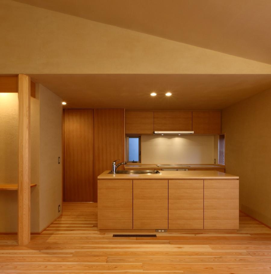 Kさんの住家の部屋 アイランドキッチン