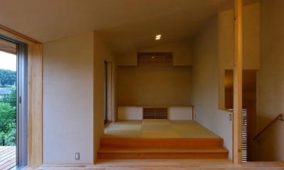 ダイニング・小上がりの畳スペース|Kさんの住家