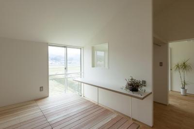 寝室 (廊下の家)