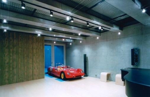 麻布の家の部屋 スタジオB1