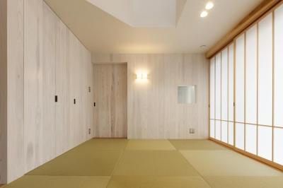 和室 (湖陵町の家)