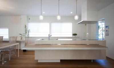 玉砂利の家 (キッチン)
