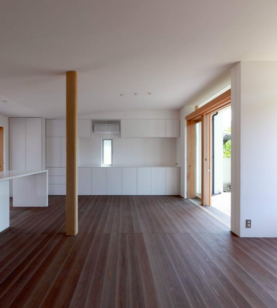 NDさんの住家の部屋 LDK (障子open)