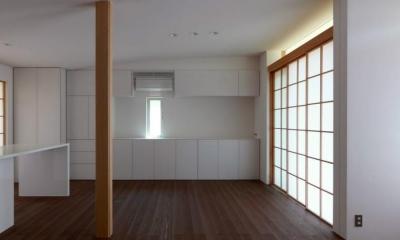 NDさんの住家 (LDK (障子close))