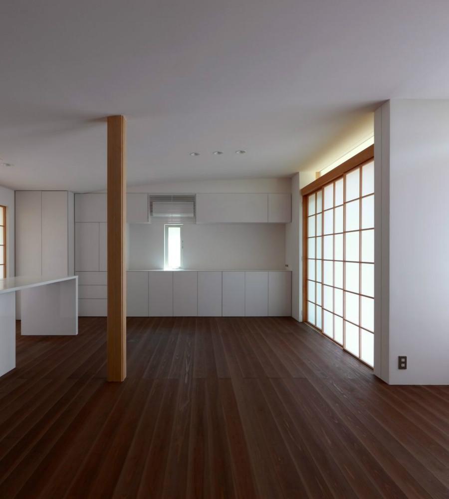 NDさんの住家の部屋 LDK (障子close)