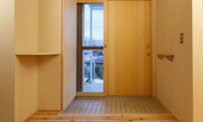 KTさんの住家 (玄関ホール)