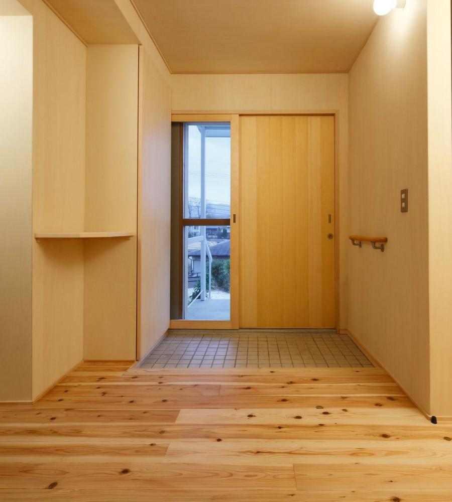 KTさんの住家の部屋 玄関ホール