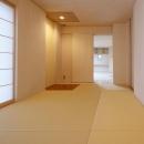 KTさんの住家の写真 琉球畳を敷き詰めた和室