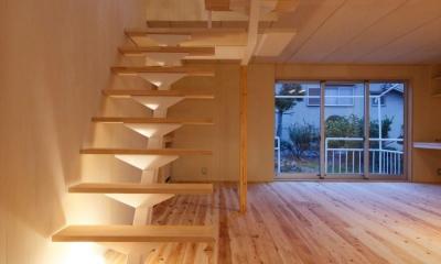 KTさんの住家 (オープン型階段)