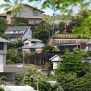 目神山の住家の写真 遠方から見た外観