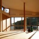 中島謙一郎の住宅事例「目神山の住家」