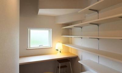 階段下スペース(家事コーナー・食品庫)|I's residence