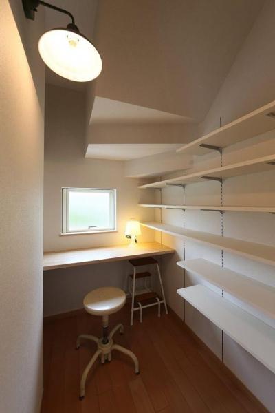 階段下スペース(家事コーナー・食品庫) (I's residence)