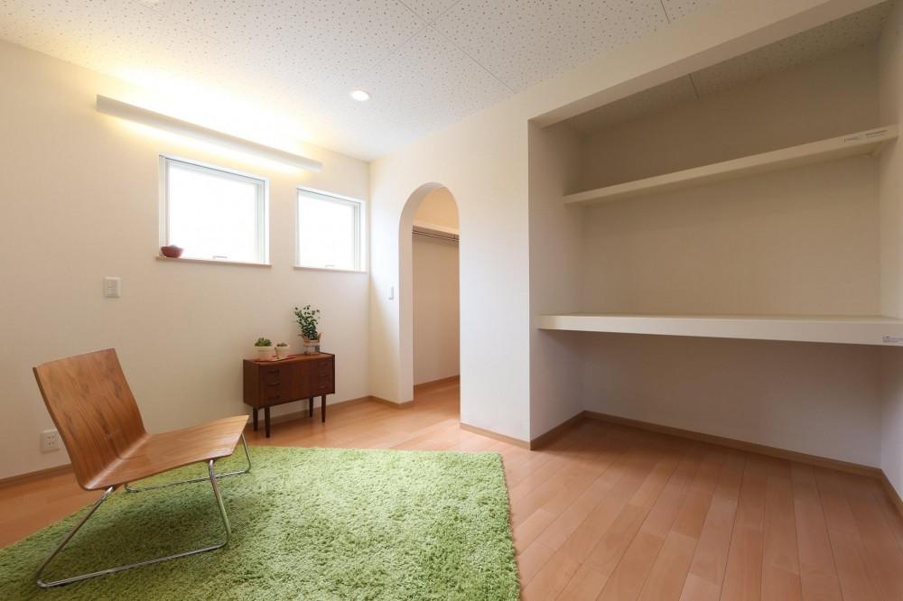 I's residence (寝室)