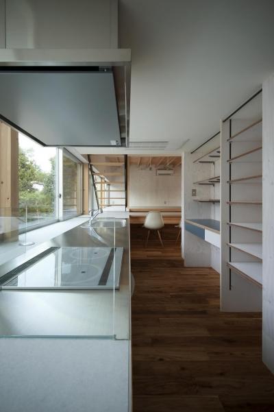 キッチン (凹みの家)