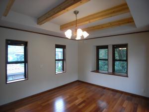 Tut邸の部屋 開放的な空間