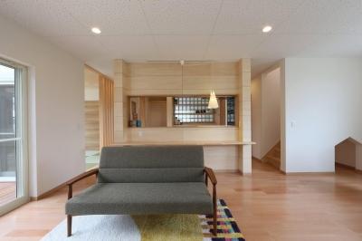I's residence (リビング・キッチン)