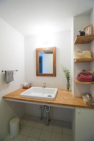 玉川上水の家の写真 洗面所