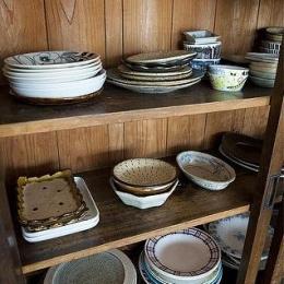 玉川上水の家 (食器戸棚)