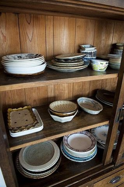 食器戸棚 (玉川上水の家)