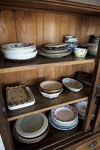 玉川上水の家の写真 食器戸棚