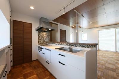 キッチン (M's residence)